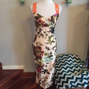 012a01c9201a68 Ted Baker London Dresses - Ted Baker natural amabel floral midi dress